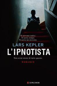 Copertina dell'Ipnotista di Lars Kepler