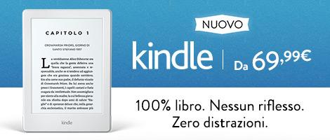 Nuovo E-reader Kindle, schermo touch da 6