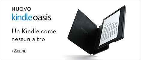 Kindle Oasis è l'e-reader più leggero e sottile della famiglia Kindle di Amazon.